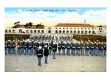 Parade, Marine Base, San Diego, California Prints