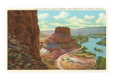 Toll Gate Rock, Green River, Wyoming Prints