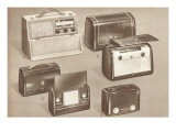 Photo of Early Portable Radios Posters