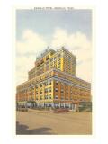 Amarillo Hotel, Amarillo, Texas Prints