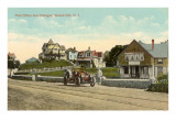 Post Office, Cottages, Watch Hill, Rhode Island Posters
