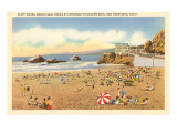 Strand am Cliff House, San Francisco, Kalifornien Poster