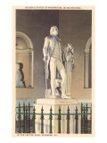 Statue of Washington, Richmond, Virginia Print