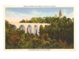 Cabrillo Bridge, Balboa Park, San Diego, California Art