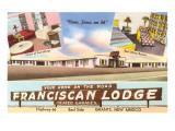 Franciscan Lodge, Motel Print