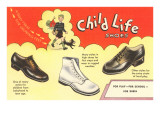 Child Life Shoes Prints