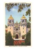 Casa del Prado, Balboa Park, San Diego, California Posters