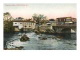 Pawtuxet Falls, Cranston, Rhode Island Poster