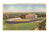 University Stadium, Madison, Wisconsin Poster
