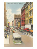Church Street, Nashville, Tennessee Print