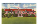 Pink Palace, Chickasaw Gardens, Memphis, Tennessee Prints