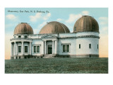 East Park Observatory, Pittsburg, Pennsylvania Prints