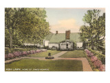 Ash Lawn, Monroe Home, Charlottesville, Virginia Print
