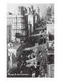 Market Street, San Francisco, California Poster