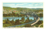 South Charleston Bridge, Charleston, West Virginia Prints