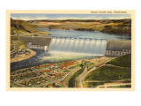 Grand Coulee Dam, Washington Prints