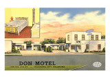 Don Vintage Motel Posters