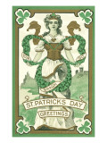 Irish Lass, Erin Go Bragh Prints
