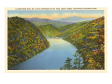 Calderwood Dam, Great Smoky Mountains Poster