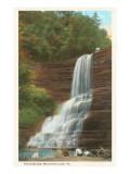 The Cascade, Mountain Lake, Virginia Poster
