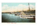 Waterfront, Seattle, Washington Print