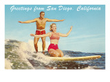 Greetings from San Diego, California Prints