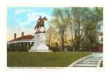 Stonewall Jackson Monument, Charlottesville, Virginia Print