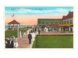 Park, Virginia Beach, Norfolk, Virginia Prints