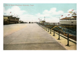 Beach Boulevard, Galveston, Texas Prints