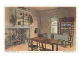Family Kitchen, Mt. Vernon, Virginia Prints