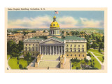 State Capitol, Columbia, South Carolina Posters