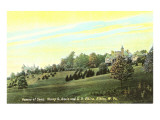 Senators' Homes, Elkins, West Virginia Prints