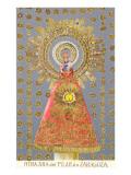 Nuestra Senora del Pilar de Zaragoza, Virgin Icon Posters