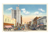 Main Street, Columbia, South Carolina Kunstdrucke