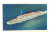 Cunard White Star, Caronia, Ocean Liner Posters