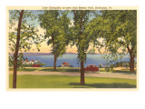 Lake Champlain, Burlington, Vermont Prints