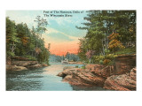 Foot of the Narrows, Wisconsin Dells Posters