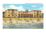 Nansemond Hotel, Ocean View, Virginia Poster