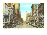 Market Street, Wheeling, West Virginia Poster
