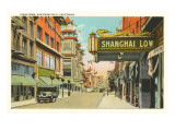 Chinatown, San Francisco, California Posters