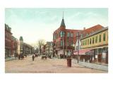 Randall Square, Providence, Rhode Island Print