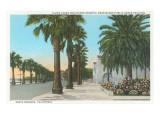 Ocean Boulevard, Santa Barbara, California Prints