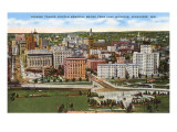 View over Milwaukee, Wisconsin Posters