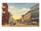 Merchants Row, Rutland, Vermont Art