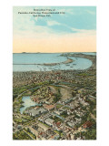 Aerial View of Exposition, San Diego, California Prints