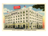 Hotel Carrillo, Santa Barbara, California Prints