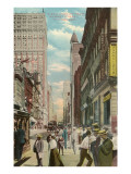 Fifth Avenue, Pittsburgh, Pennsylvania Prints