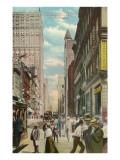 Fifth Avenue, Pittsburgh, Pennsylvania Prints