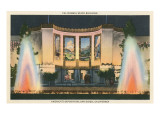California State Building, World's Fair, San Diego Prints