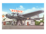 Bomber Gas Station Posters